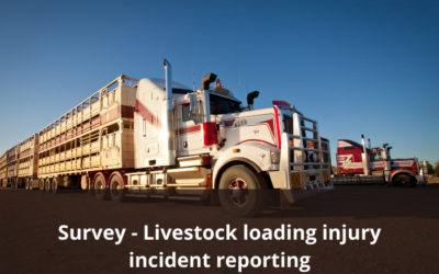 Survey for livestock operators