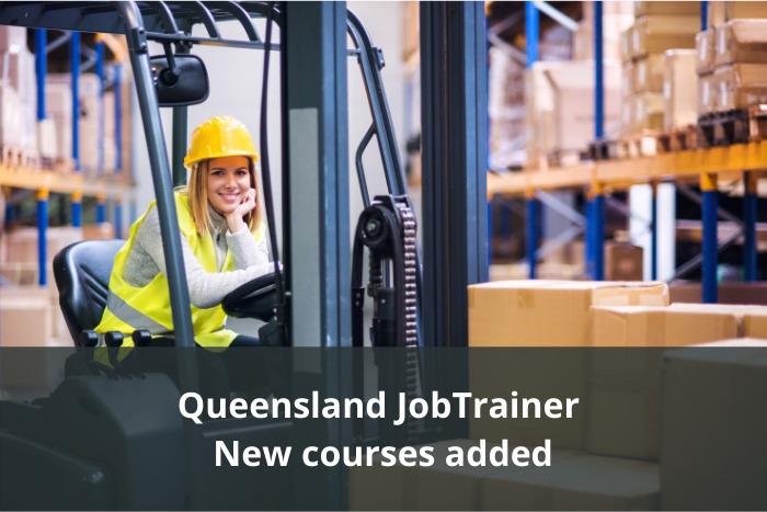 New Queensland JobTrainer Priority Courses