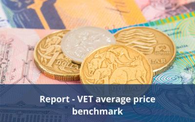 National Skills Commission releases report – VET average price benchmark