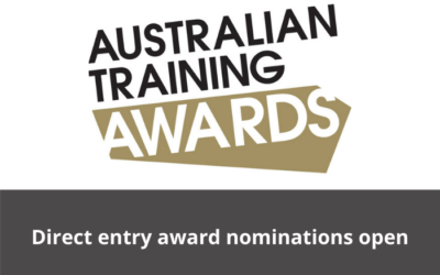 Australian Training Awards 2021 – Direct entry nominations are now open