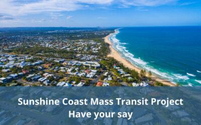 Public consultation open for the Sunshine Coast Mass Transit Project