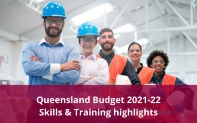 Queensland Budget 2021-22 – Skills and training highlights