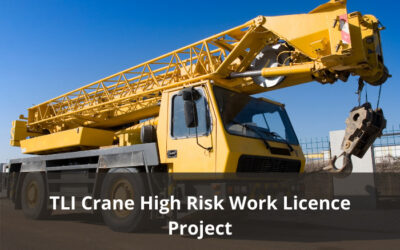 TLI Crane High Risk Work Licence Project – Final draft materials available for comment