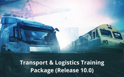 Case for Endorsement released for Transport & Logistics Training Package Release 10.0