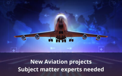 Subject matter experts required for new Aviation Training Package Projects