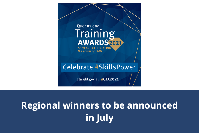 Queensland Training Awards 2021 - Winners and finalists
