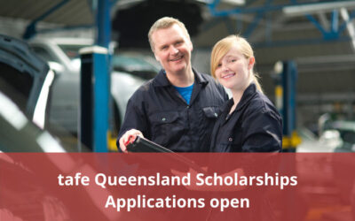tafe Queensland are accepting applications for their Scholarship Program