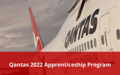Qantas 2022 Apprenticeship Program – Applications open
