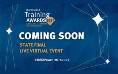 Queensland Training Awards State Final – 8 October 2021